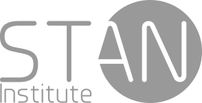 logo stan institute monochrome